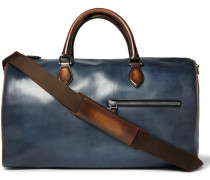 Jour-off Polished-leather Holdall