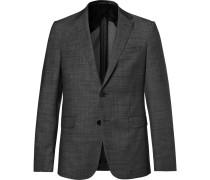 Charcoal Slim-fit Nobis Nailhead Wool Blazer