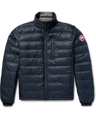 Lodge Packable Quilted Ripstop Down Jacket