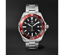 Aquaracer 43mm Polished-steel Watch