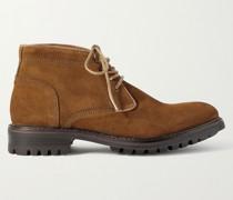Stafford Suede Chukka Boots