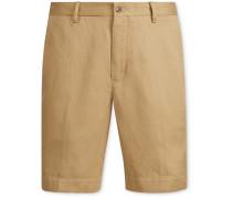 Newport Linen, Lyocell and Cotton-Blend Shorts