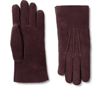 Water-resistant Shearling Gloves