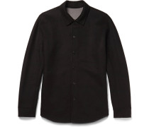 Paytin Double-faced Virgin Wool And Cashmere-blend Overshirt