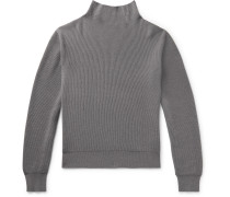 Daniel Ribbed Cashmere Rollneck Sweater