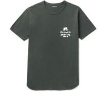 Riverside Printed Cotton-jersey T-shirt