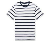 Aspen Striped Cotton and Modal-Blend Jersey T-Shirt