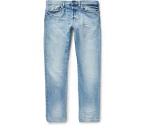 Slim-fit Washed-denim Jeans