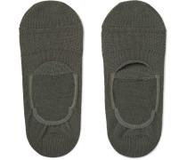 Dweller Cotton-blend No-show Socks
