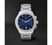 Polo S Automatic Chronograph 42mm Stainless Steel Watch, Ref. No. G0A41006