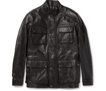 Trialmaster Waxed-leather Jacket