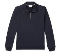 Fjord Loopback Cotton and COOLMAX-Blend Jersey Half-Zip Sweatshirt