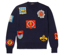 Intarsia Cotton Sweater