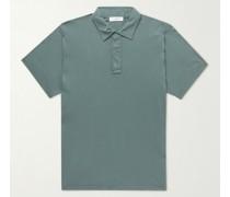 Supima Cotton-Jersey Polo Shirt
