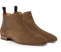 Safari Suede Chelsea Boots