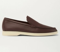 Summer Walk Leather Loafers