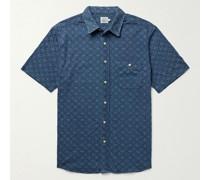 Knit Seasons Printed Slub Cotton-Jersey Shirt