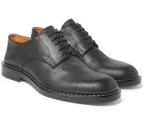 Matte-leather Derby Shoes