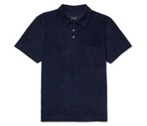 Mr Fantasy Cotton-Blend Terry Polo Shirt