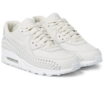 Air Max 90 Woven Leather Sneakers