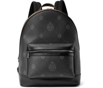 Explorer Signature Canvas and Leather Backpack