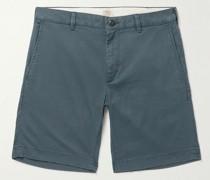 Island Life Stretch Organic Cotton and TENCEL-Blend Twill Shorts