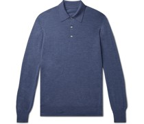 Virgin Wool Polo Shirt