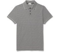 Striped Cotton-Piqué Polo Shirt