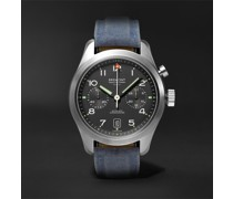 Arrow Automatic Chronograph 42mm Stainless Steel and Sailcloth Watch