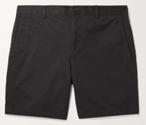 Baxter Slim-Fit Stretch-Cotton Twill Shorts