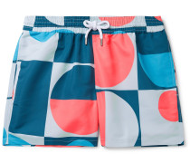 Copic Mid-Length Printed Swim Shorts