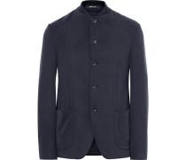 Slim-fit Matte-satin Jacket