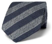 8cm Striped Mulberry Silk Tie