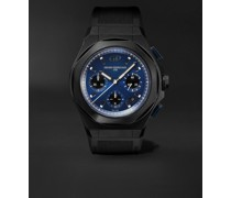 Laureato Absolute Automatic Chronograph 44mm Titanium and Rubber Watch, Ref. No. 81060-21-491-FH6A