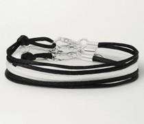 Set of Three Silk Bracelets
