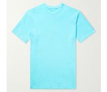 Slub Stretch-Linen T-Shirt