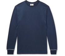 Powell Piped Cotton-jersey Pyjama Shirt