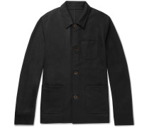 Brushed-wool Chore Jacket