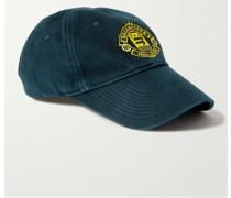 Logo-Embroidered Cotton-Drill Baseball Cap