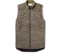 Quentin Quilted Cotton Gilet