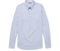 Striped Cotton-poplin Shirt