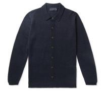 Linen and Silk-Blend Shirt