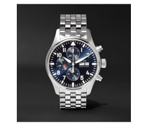 Pilot's Le Petit Prince Edition Chronograph 43mm Stainless Steel Watch, Ref. No. IW377717