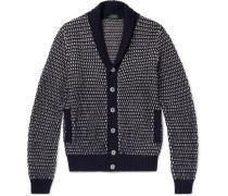 Shawl-collar Wool And Alpaca-blend Cardigan
