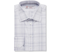 Slim-fit Checked Cotton Shirt