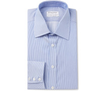 + Turnbull & Asser Slim-fit Striped Cotton Shirt