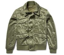 Satin-twill Field Jacket