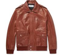 Textured-leather Jacket