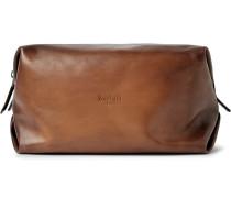Doudou Gm Polished-leather Wash Bag