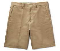 Adrian Cotton-blend Chino Shorts